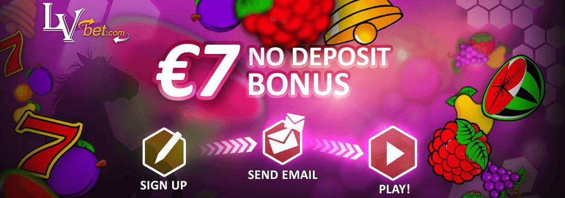 LV Bet No 7 € No Deposit Bonus